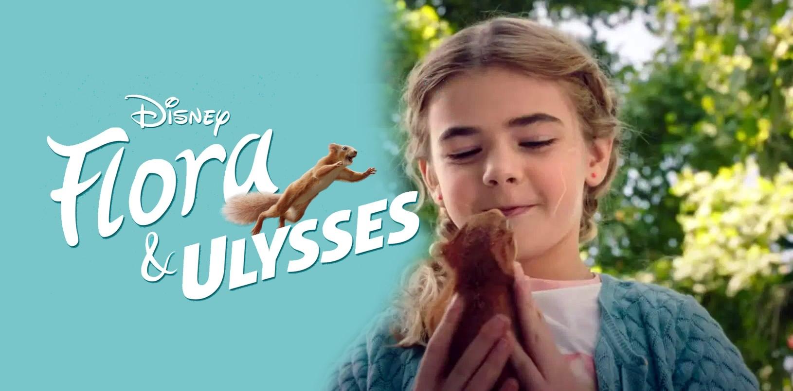 Flora e Ulisses | Filme de aventura da Disney com um esquilo super herói