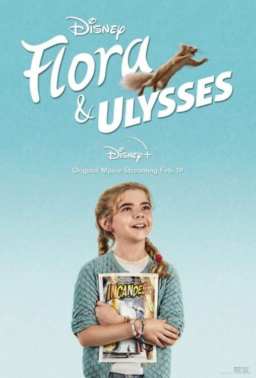 flora e ulysses filme disney 508x750 - Flora e Ulisses | Filme de aventura da Disney com um esquilo super herói