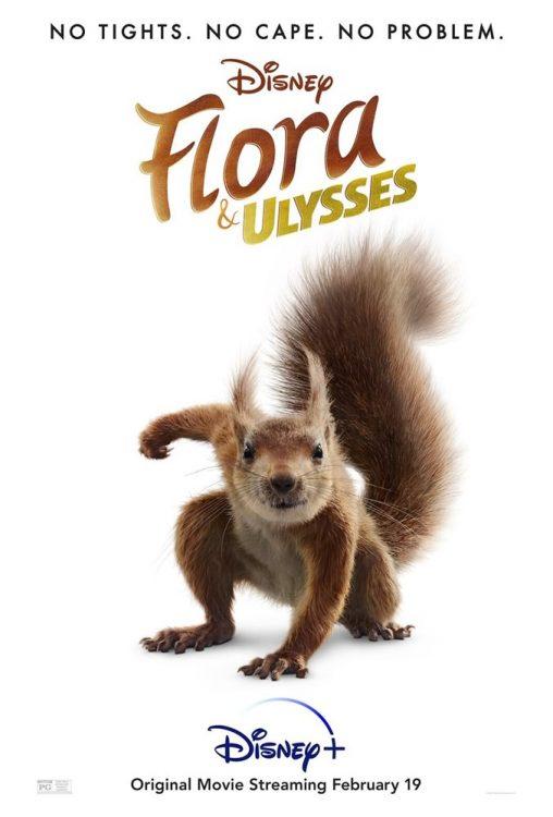 flora e ulysses filme disney plus 508x750 - Flora e Ulisses | Filme de aventura da Disney com um esquilo super herói