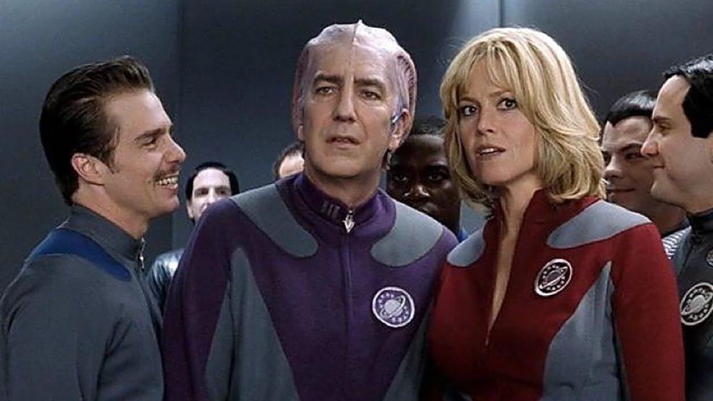 Galaxy Quest com Tim Allen, Sigourney Weaver e Alan Rickman