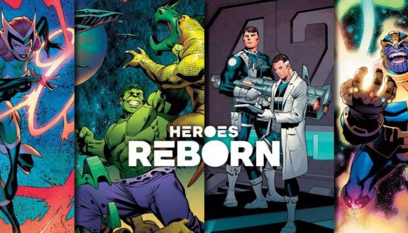 HEROES REBORN | Marvel Comics lança novas artes promocionais