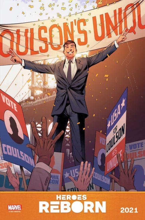 HEROES REBORN   Marvel Comics lança novas artes promocionais