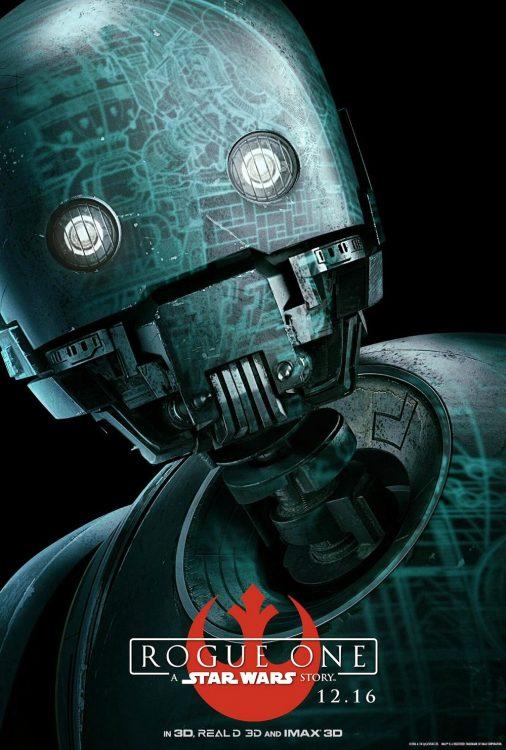 k 2so droid star war rogue one 506x750 - STAR WARS: ANDOR | Alan Tudyk diz que K-S2O não aparecerá na primeira temporada