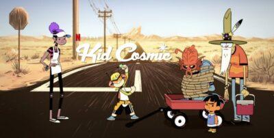 Kid Cosmic | Nova série animada da Netflix do mesmo criador de As Meninas Superpoderosas