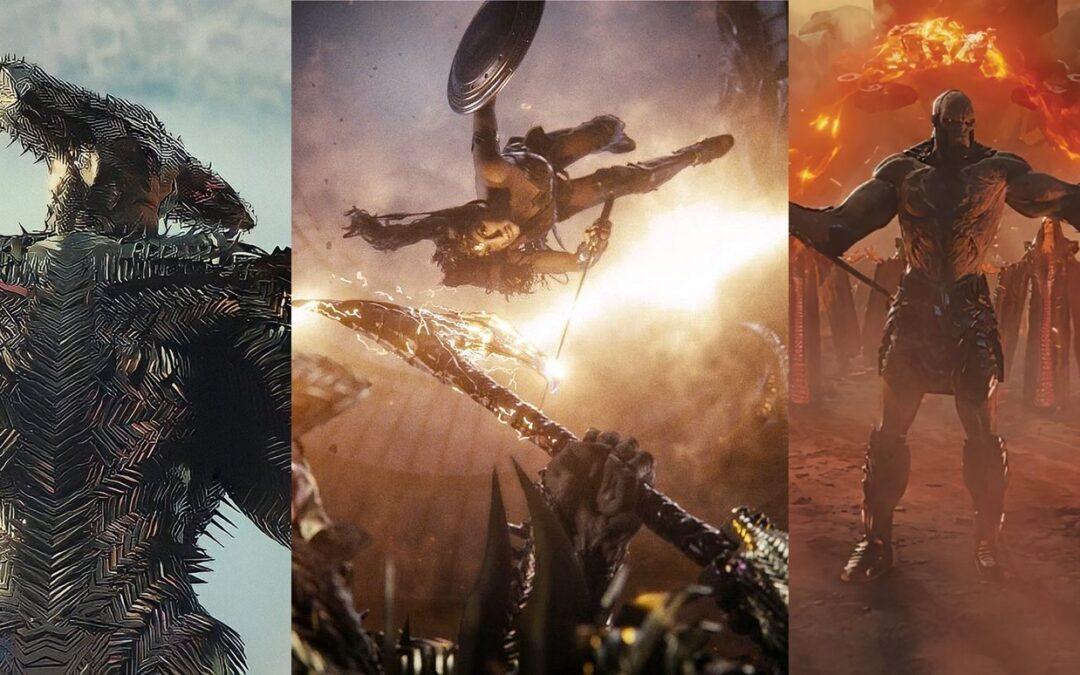 Liga da Justiça versão Zack Snyder tem novas imagens de Darkseid, Lobo da Estepe e Mulher-Maravilha