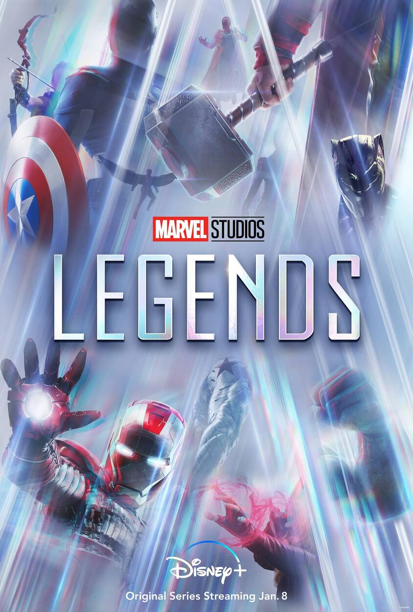 marvel studios legends wanda maximoff e visao - Marvel Studios: Legends | Wanda Maximoff e Visão são o foco da nova série da Disney Plus