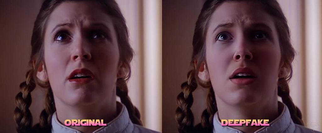 Millie Bobby Brown é a Princesa Leia em vídeo Deepfake de Star Wars