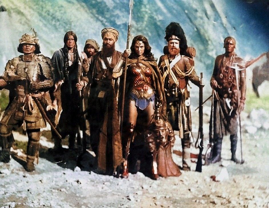 Mulher-Maravilha - Zack Snyder revela foto antiga descartada que mudaria a origem Diana Prince como Mulher-Maravilha