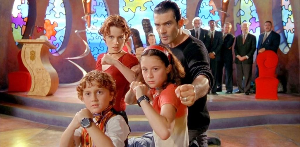 Pequenos Espiões: Antonio Banderas - Carla Gugino  - Daryl Sabara - Alexa Vega