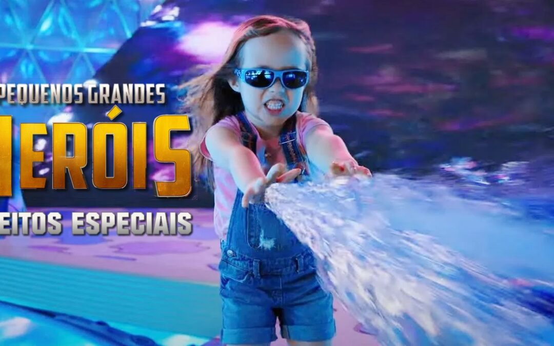 Pequenos Grandes Heróis | Robert Rodrigues divulga vídeo de bastidores mostrando os efeitos especiais
