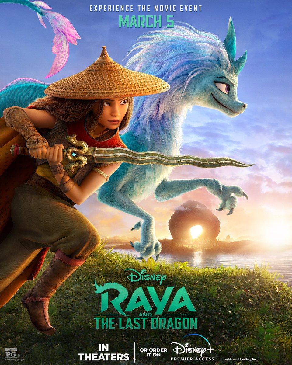 RAYA E O ÚLTIMO DRAGÃO   Novo trailer e cartaz da nova animação da Disney