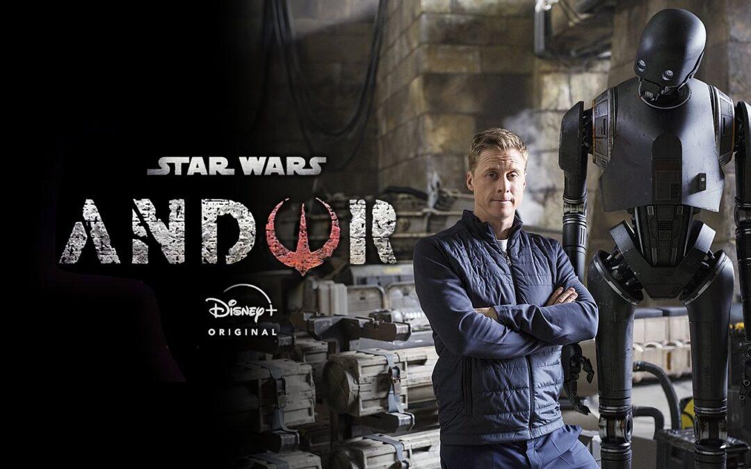 STAR WARS: ANDOR | Alan Tudyk diz que K-S2O não aparecerá na primeira temporada