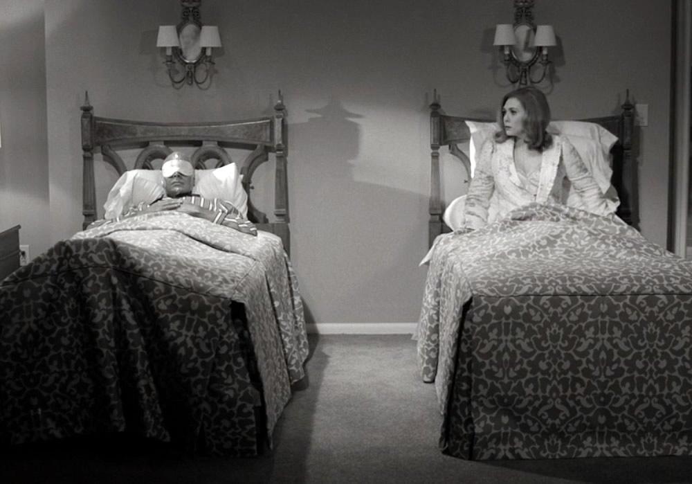 wandavision wanda evisao em camas separadas - WandaVision | Quiz da Primeira Temporada