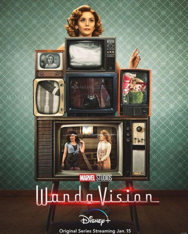 Wandavision - Wanda Maximoff - Feiticeira Escarlate