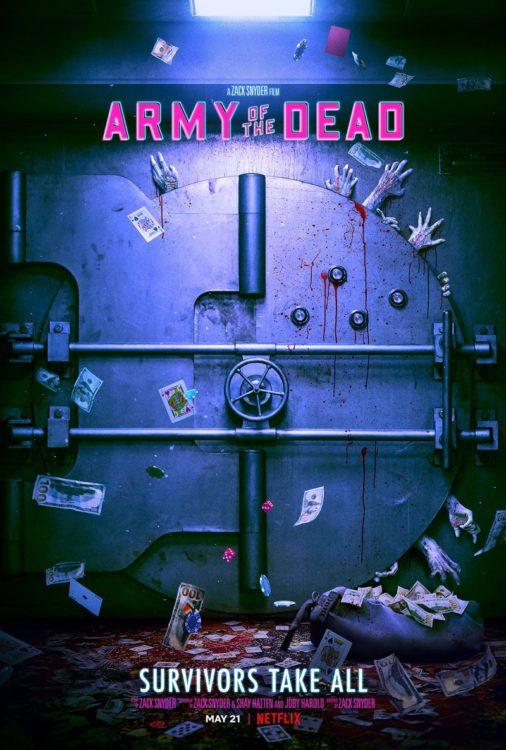 ARMY OF THE DEAD: Invasão em Las Vegas   Filme de Zumbis dirigido por Zack Snyder