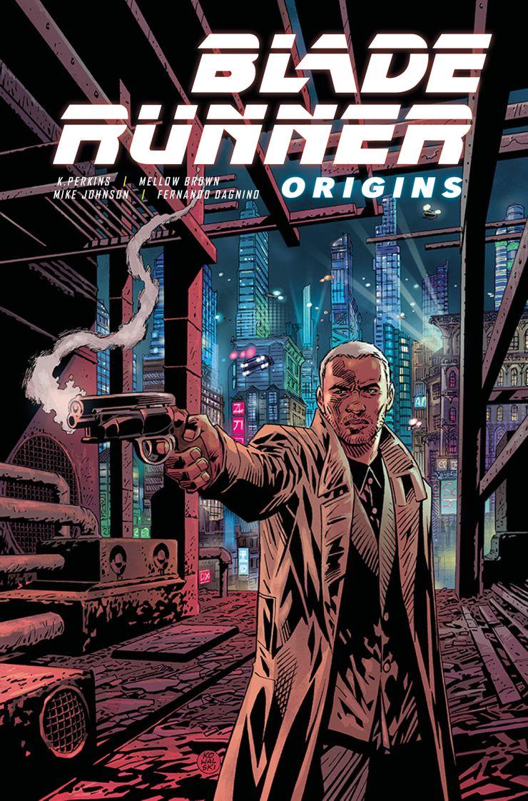 blade runner origins 1 titan comics - BLADE RUNNER ORIGINS | Hq da Titan Comics revela a origem dos Blade Runners
