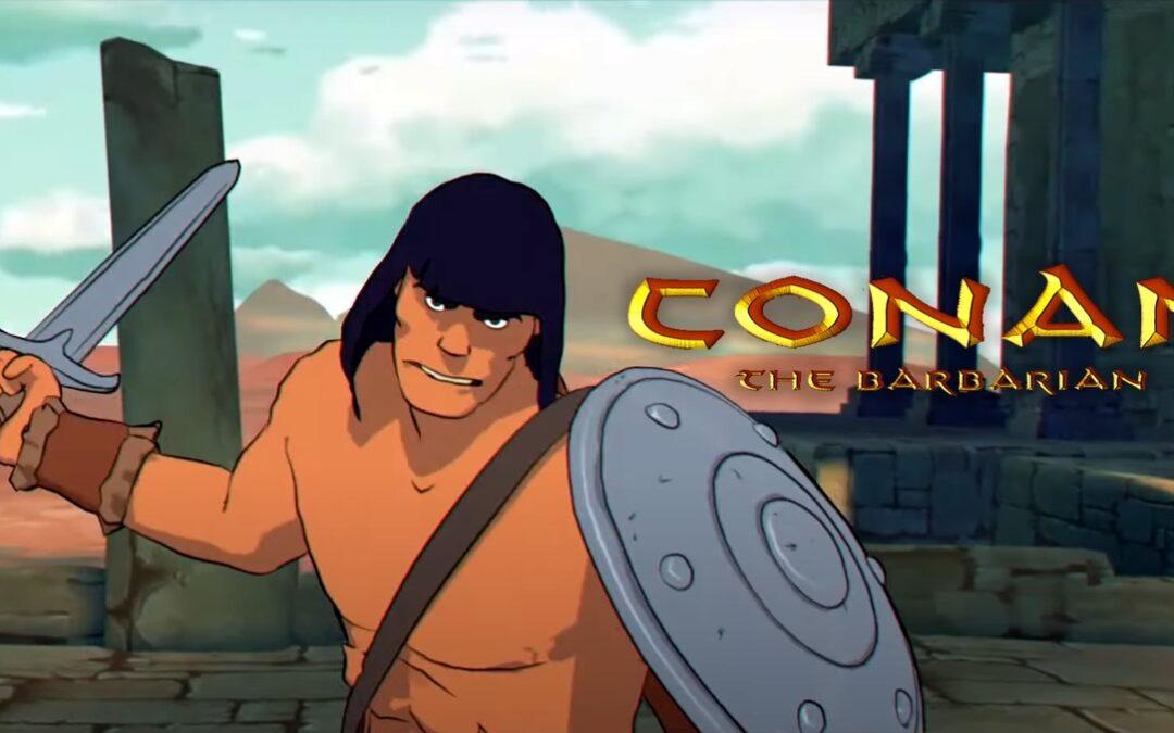 Conan o Bárbaro   Animação de Conan contra os Orcs neste curta-metragem brutal