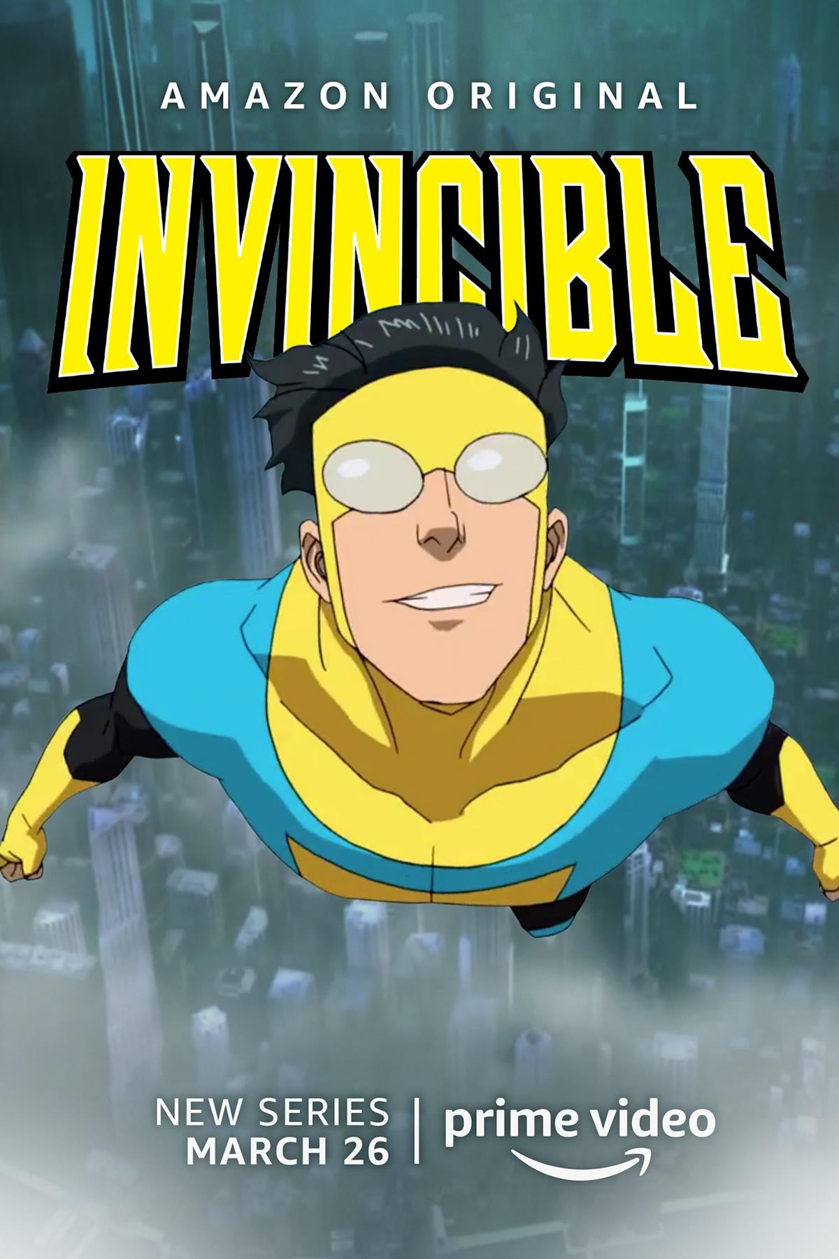 INVINCIBLE   Trailer violento da série animada da adaptação dos quadrinhos de Robert Kirkman