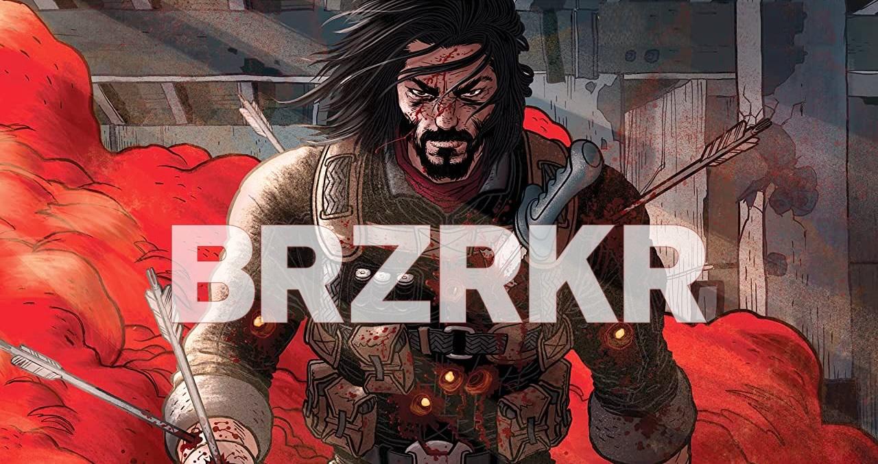 Keanu Reeves lança sua série em quadrinhos BRZRKR com trailer narrado por ele