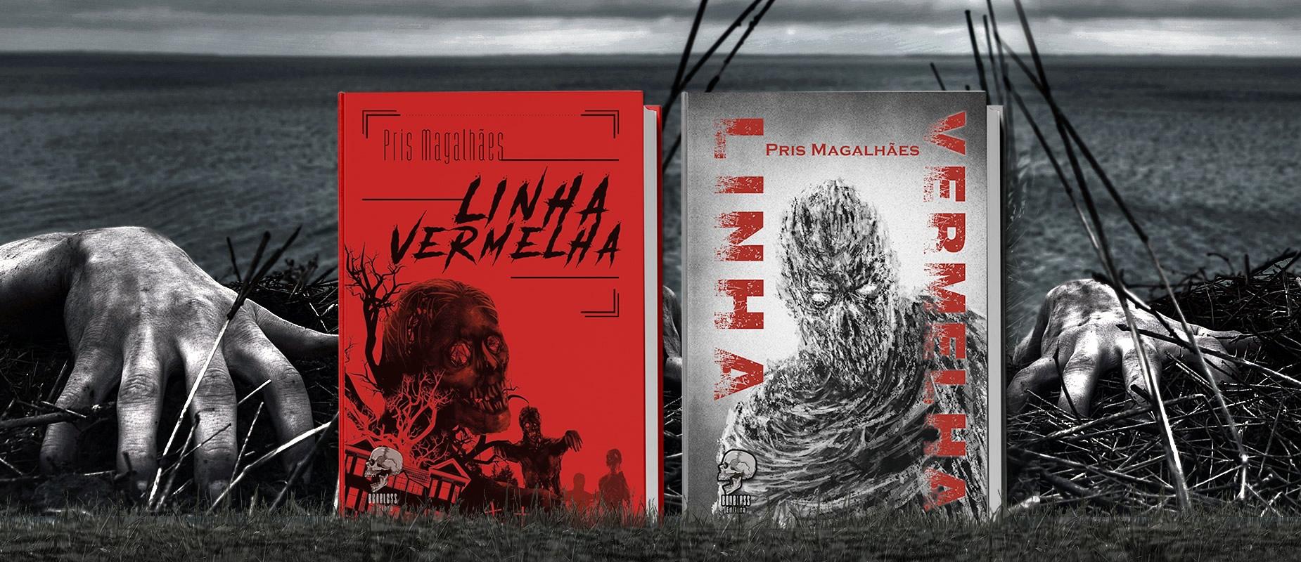 linha vermelha livro terror autora pris magalhaes catarse - Linha Vermelha - Livro de Pris Magalhães em Campanha no Catarse