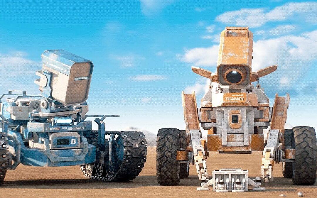 Planeta Desconhecido   Curta-metragem de ficção científica sobre dois robôs com a missão de explorar planetas que possam abrigar vida