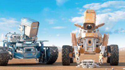 Planeta Desconhecido | Curta-metragem de ficção científica sobre dois robôs com a missão de explorar planetas que possam abrigar vida
