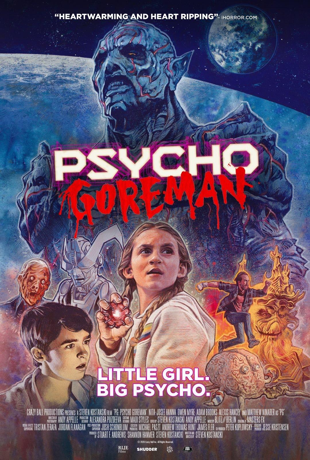 PSYCHO GOREMAN | Filme de ficção científica trash e muito divertido