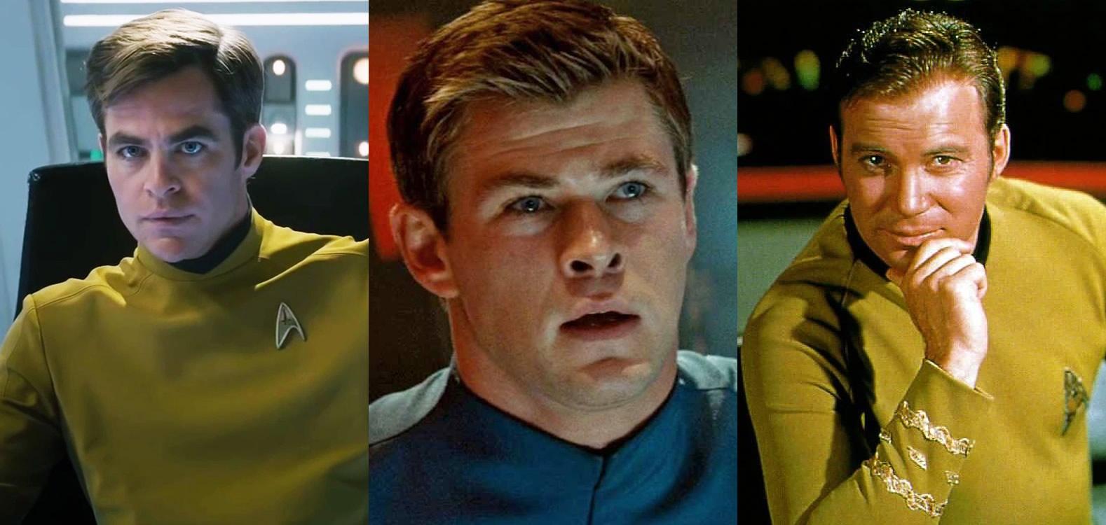 Star Trek 4   Paramount ainda estaria interessada em produzir o filme com Chris Pine, Chris Hemsworth e William Shatner