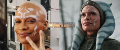 THE MANDALORIAN 2 | Rosario Dawson compartilha vídeo de bastidores se transformando em Ahsoka Tano