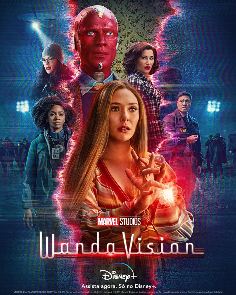 WANDAVISION   Série da Marvel Studios prepara uma surpresa épica como em The Mandalorian com Luke Skywalker