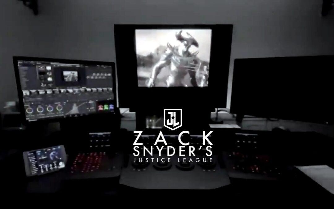 ZACK SNYDER compartilha cena do Lobo da Estepe contra as Amazonas em Liga da Justiça
