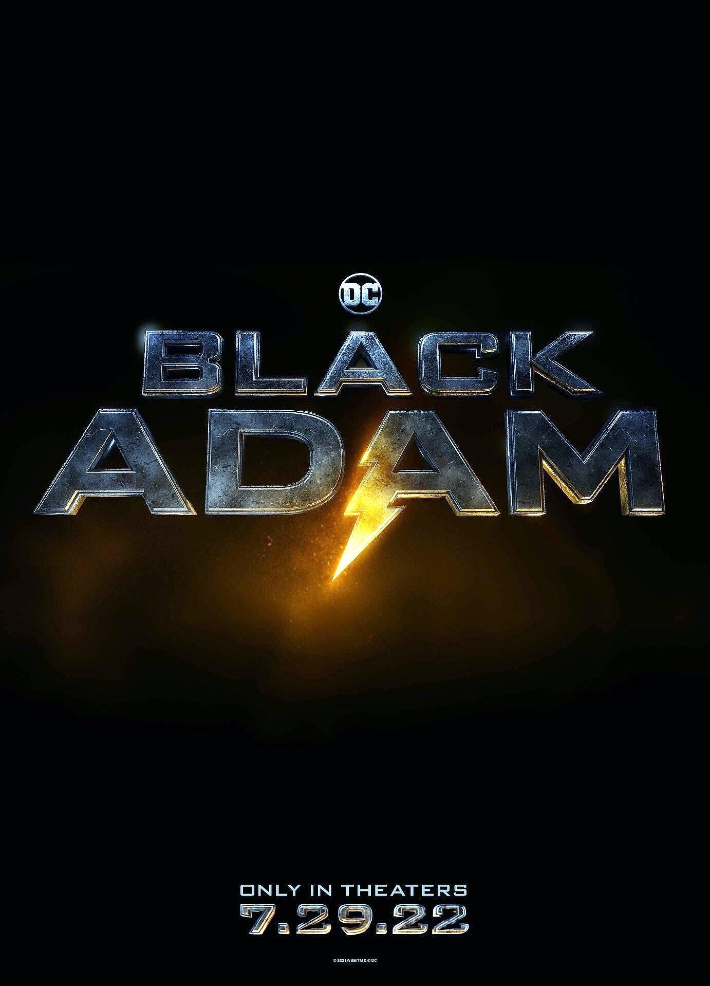 adao negro dwayne johnson revela data de lancamento em poster - Adão Negro | Dwayne Johnson revela data de lançamento em pôster e vídeo