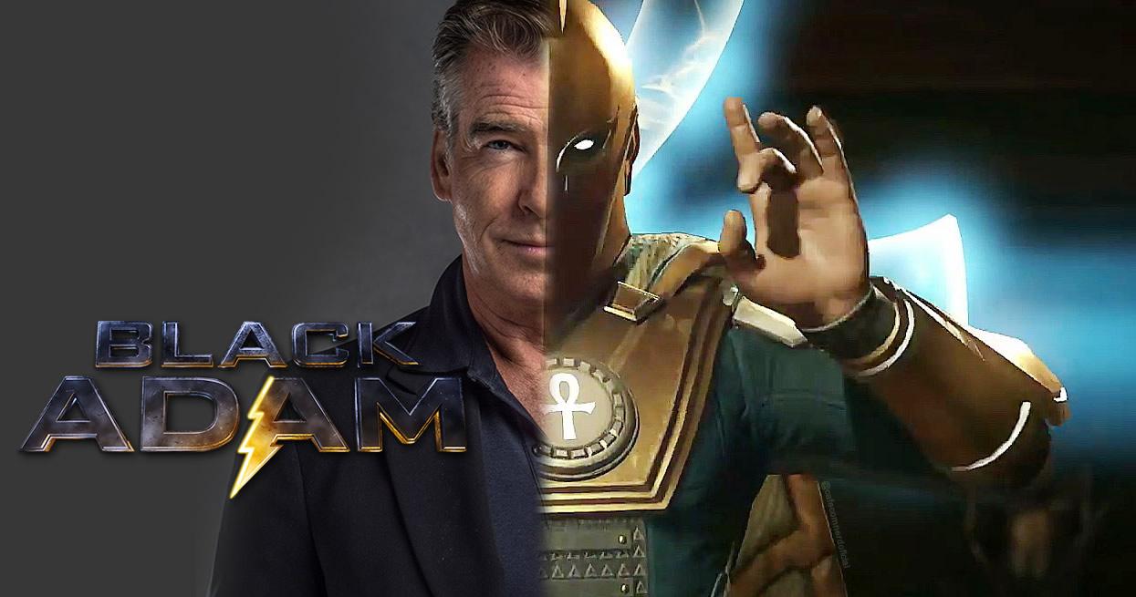 Adão Negro | Pierce Brosnan escalado como Senhor Destino em filme da DC com Dwayne Johnson