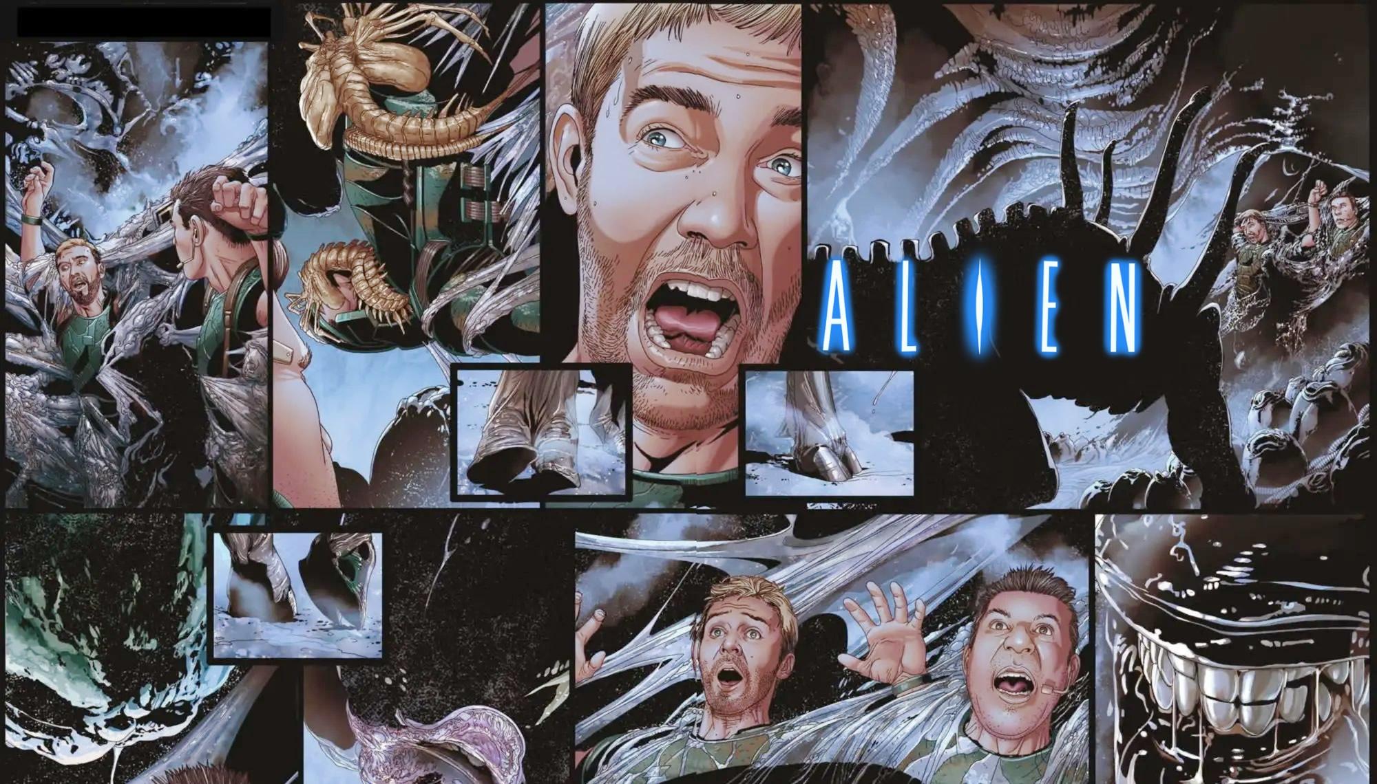 ALIEN # 1 Marvel Comics divulga um trailer para o lançamento de sua série em quadrinhos