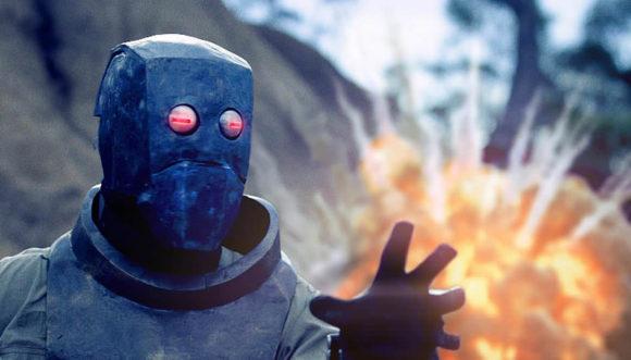 ARMADILHA DO TEMPO   Curta-metragem de Michael Shanks sobre um astronauta que precisa encontrar o caminho para casa