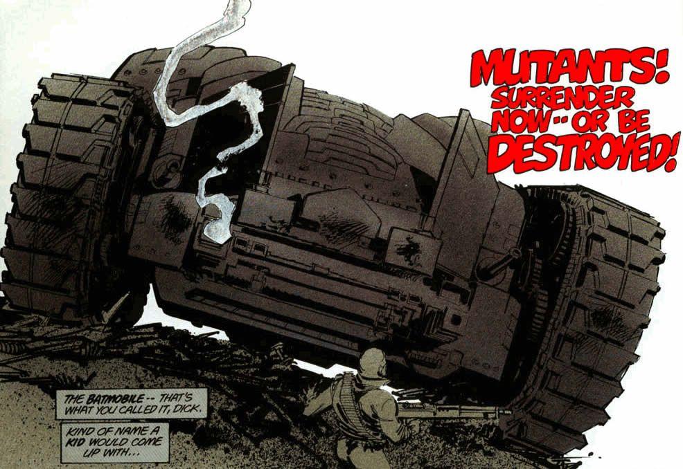 battanque o cavaleiro das trevas frank miller 1 - Snyder Cut   Cena em Liga da Justiça de Zack Snyder revela Gangue Mutante de Cavaleiro das Trevas de Frank Miller