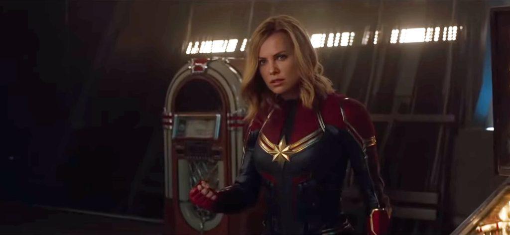 Capitã Marvel - Deepfake com Charlize Theron no papel da heroína da Marvel