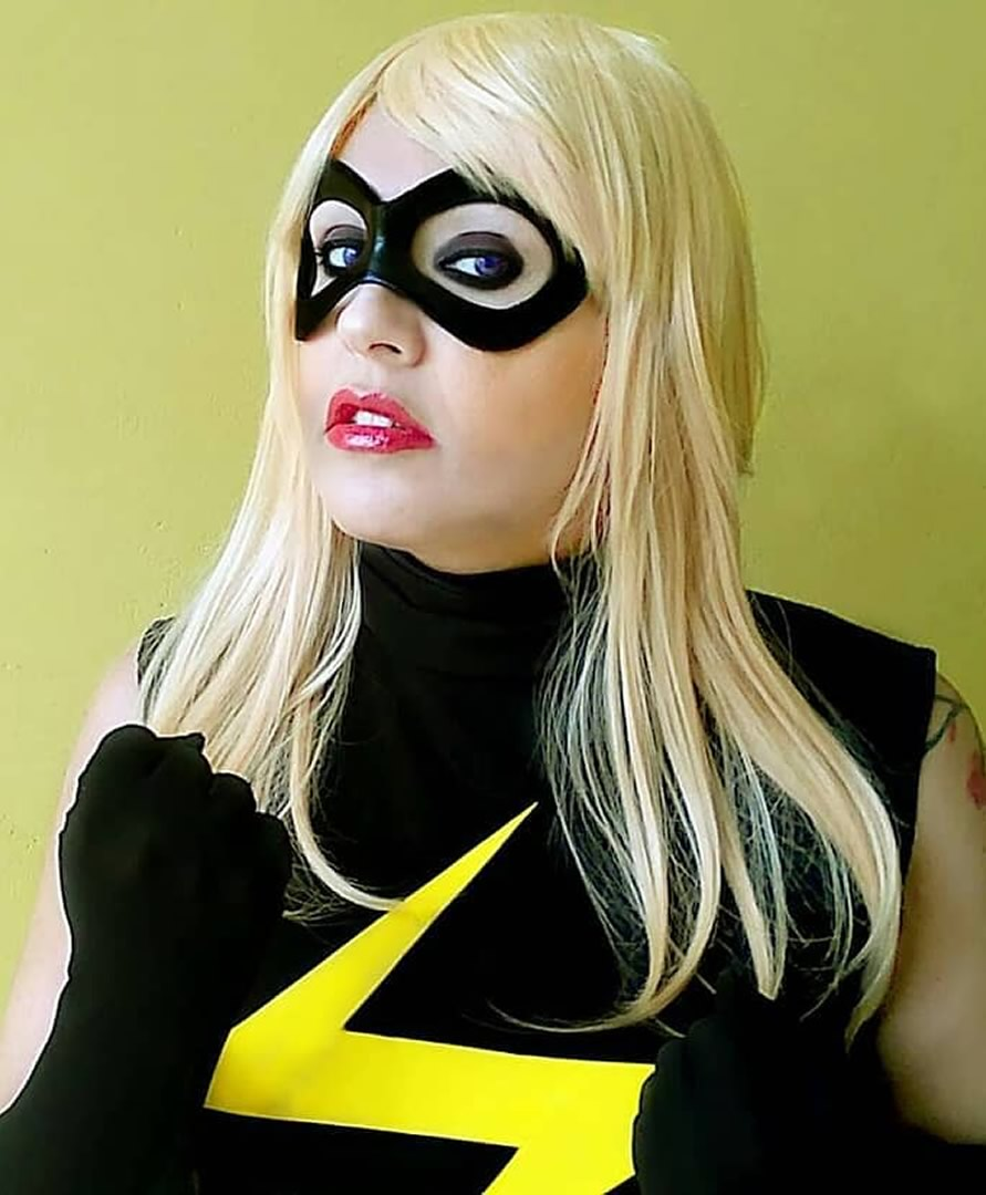 cosplayer capita marvel cinerockgirl - Gabriella Ponte - Cosplayer CineRockGirl