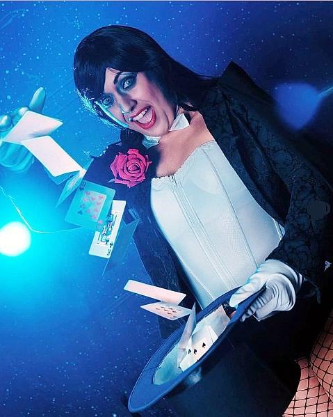 cosplayer zatanna dc comics - Gabriella Ponte - Cosplayer CineRockGirl