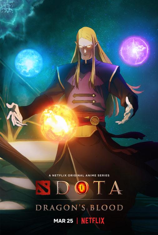 dota dragons blood serie animada netflix poster1 506x750 - DOTA: Dragon's Blood | Série anime da Netflix tem trailer divulgado