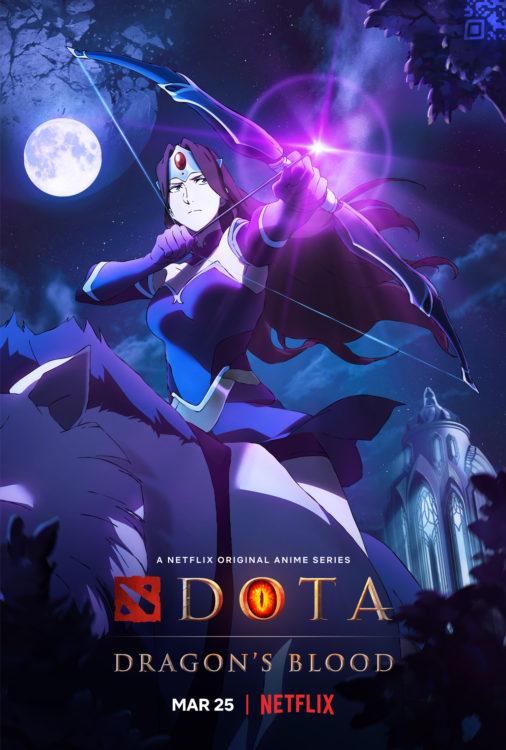 dota dragons blood serie animada netflix poster2 506x750 - DOTA: Dragon's Blood | Série anime da Netflix tem trailer divulgado