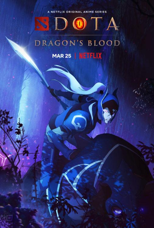 dota dragons blood serie animada netflix poster3 506x750 - DOTA: Dragon's Blood | Série anime da Netflix tem trailer divulgado