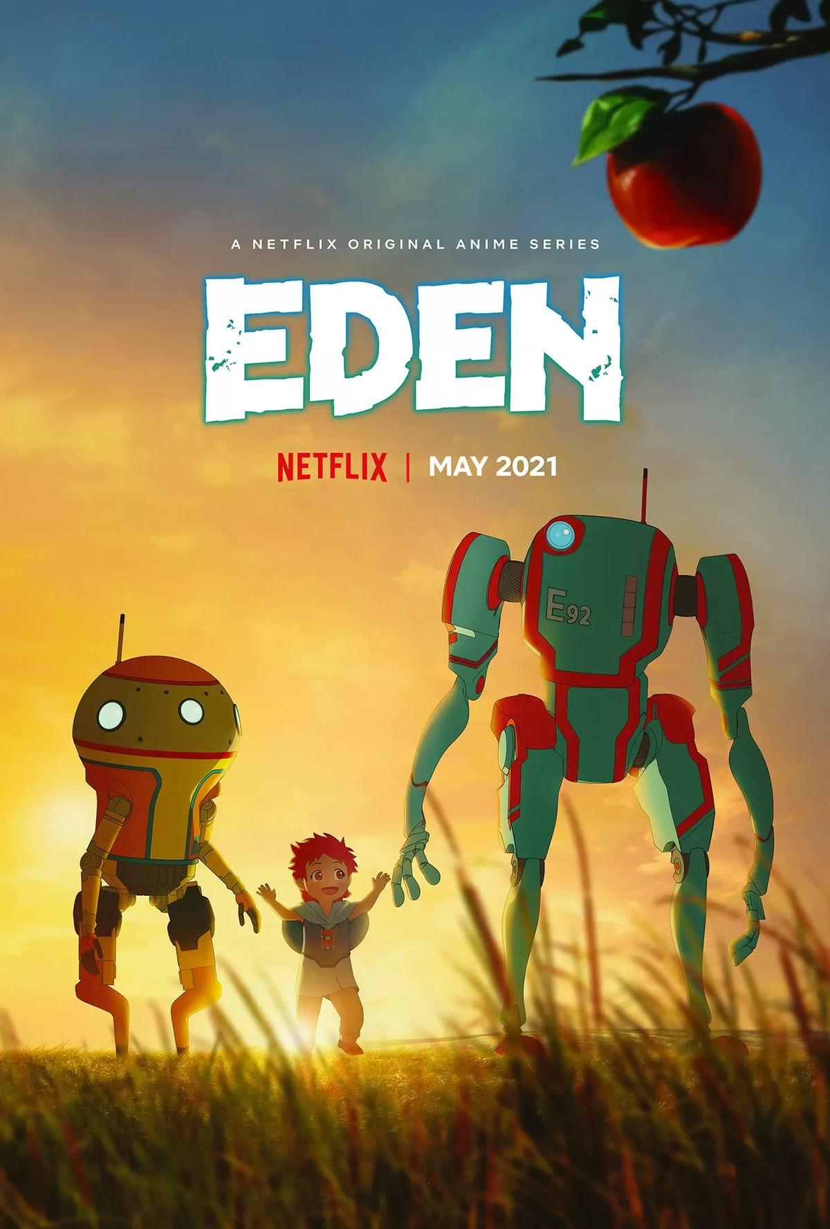 EDEN   Anime de ficção científica tem trailer e data de lançamento na Netflix