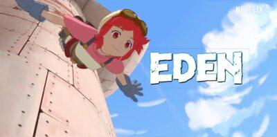 EDEN | Anime de ficção científica tem trailer e data de lançamento na Netflix