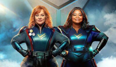 Esquadrão Trovão | Melissa McCarthy e Octavia Spencer são super heróinas em filme na Netflix