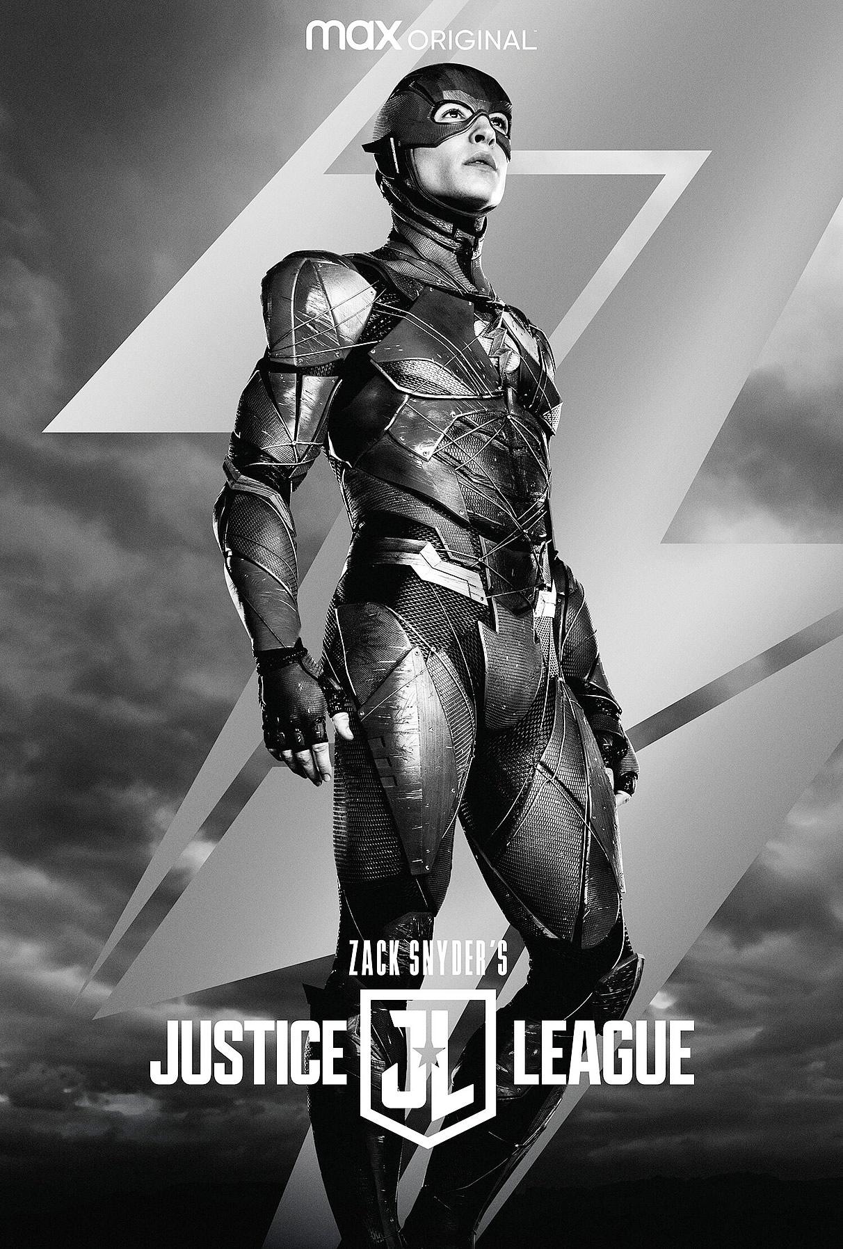 Liga da Justiça versão Zack Snyder   Novo trailer e um cartaz individual de Flash de Ezra Miller
