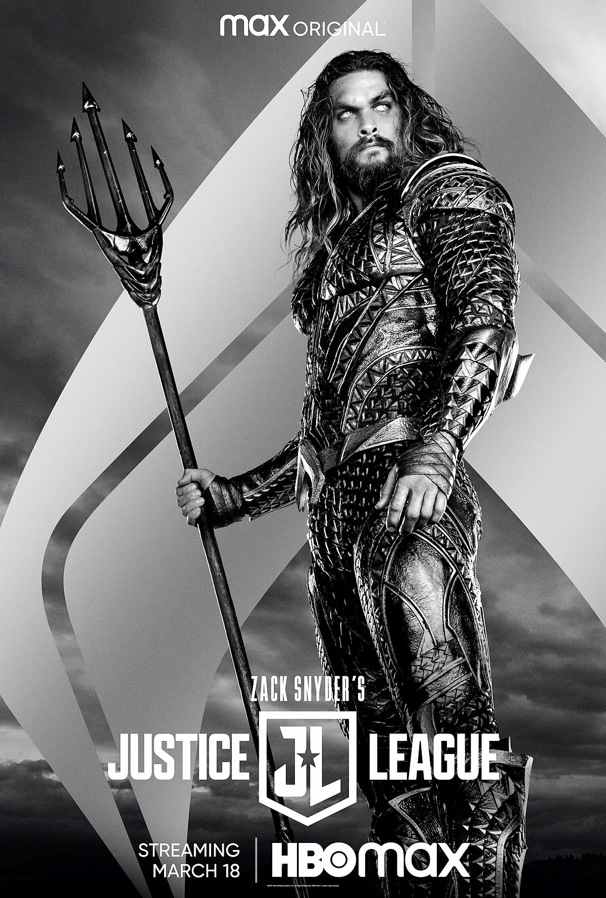 Liga da Justiça versão Zack Snyder | Novo trailer e um cartaz com destaque em Aquaman com Jason Momoa