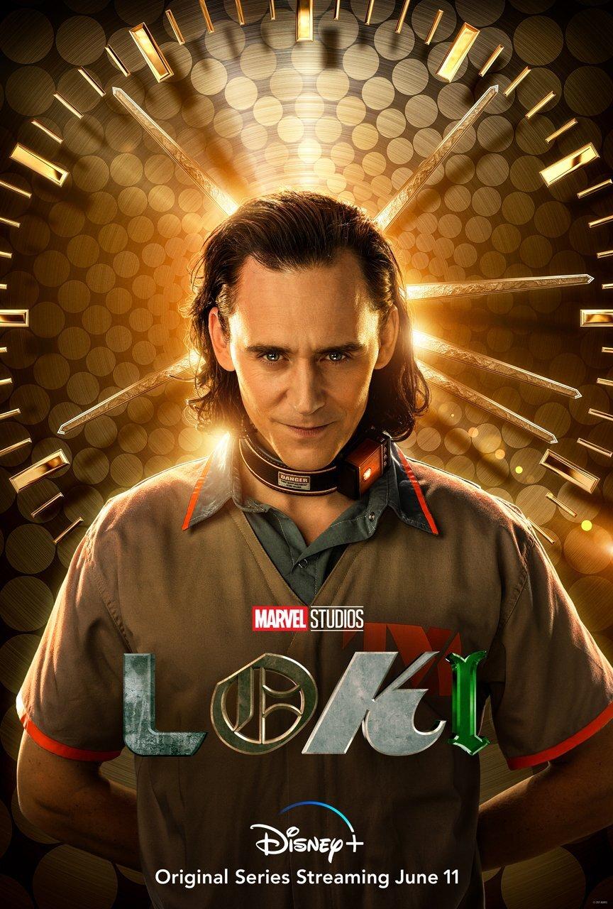 LOKI | Série da Marvel Studios ganha poster individual com Tom Hiddleston