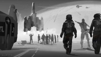O ÚLTIMO GUERREIRO DAS ESTRELAS | Roteirista Gary Whitta revela arte conceitual da possível sequência