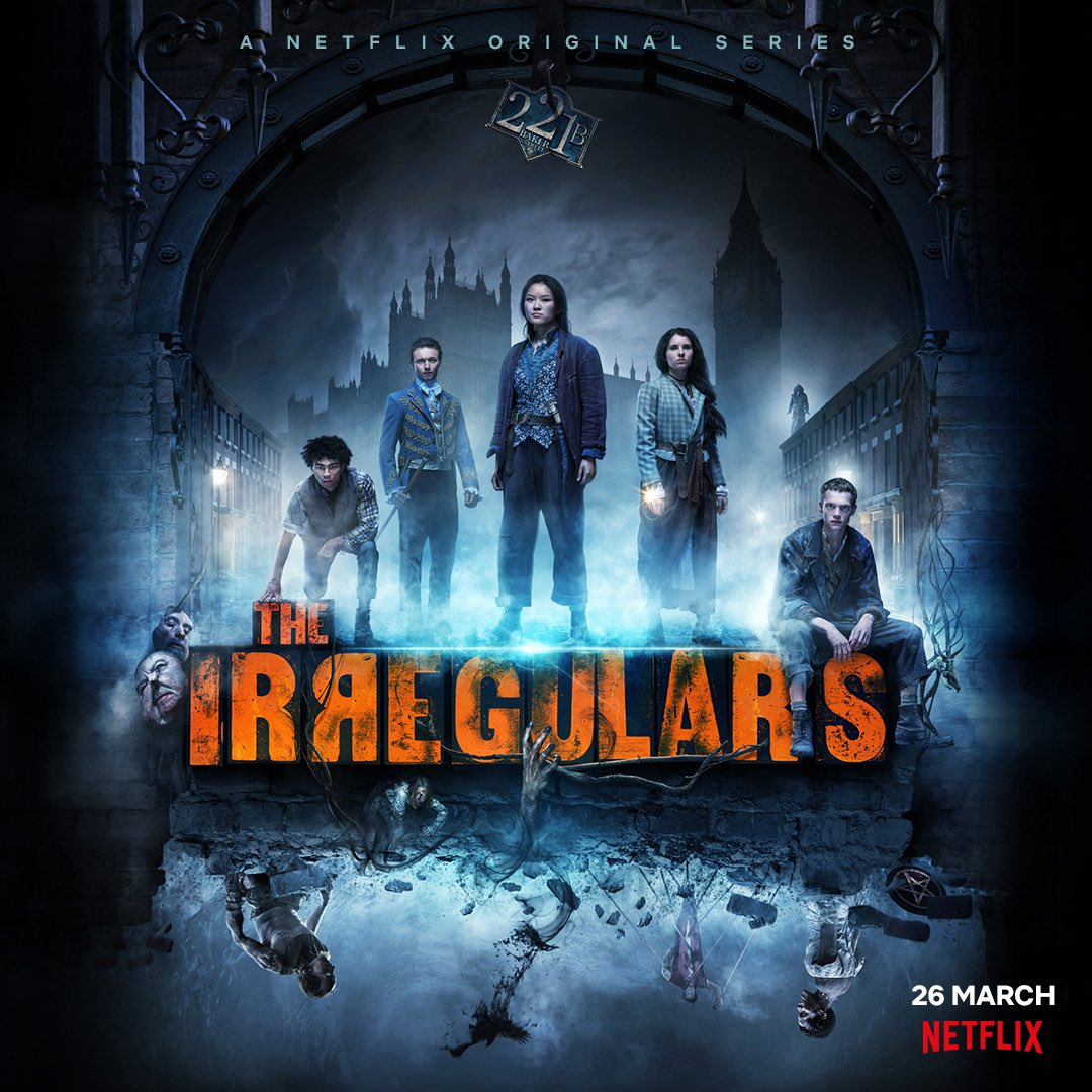 s Irregulares de Baker Street | Trailer de série sobrenatural na Netflix